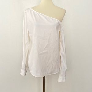 Theory Medium Ulrika Off the Shoulder Blouse